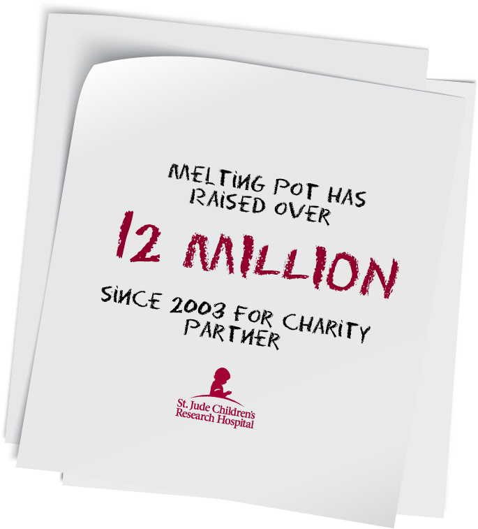 Melting Pot Has Raised Over 12 Million Since 2003 For Charity Partner